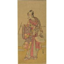 Katsukawa Shunsho: Actor Matsumoto Koshirô 4th AS SOGA NO TURO - Harvard Art Museum