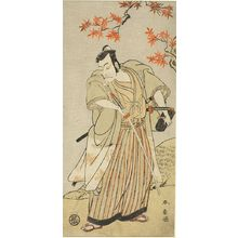Katsukawa Shunsho: Actor with Drawn Sword - Harvard Art Museum