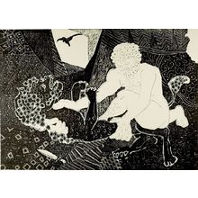 Hagiwara Hideo: Herakles, Shôwa period, dated 1965? - Harvard Art Museum