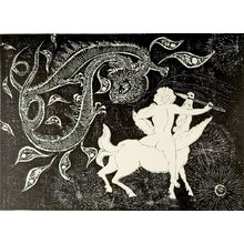Hagiwara Hideo: Bellerophon, Shôwa period, dated 1965? - Harvard Art Museum