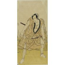 Katsukawa Shunko: Actor TAKINAKA KASSEN AS A WRESTLER - Harvard Art Museum