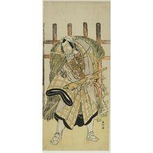 Katsukawa Shunko: Actor Nakamura Denkûrô 2nd AS KAGEKIYO - Harvard Art Museum
