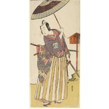 Katsukawa Shunko: MAN, LEANING TO SIDE - Harvard Art Museum