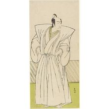 勝川春好: Actor Ichikawa Danjûrô as Yuranosuke, Chief of the Forty-Seven Loyal Ronin, Edo period, circa 1770-1790 - ハーバード大学
