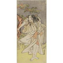 Katsukawa Shunjô: Actors BANDO MITSUGORO AND Ichikawa Danjûrô - ハーバード大学