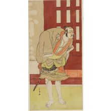 Katsukawa Shunjô: Actor Nakamura KANZAEMON 3RD AS A YAKKO, Edo period, - ハーバード大学