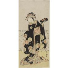 Katsukawa Shunjô: Actor Otani Tokuji AS A MAID SERVANT, Edo period, - ハーバード大学