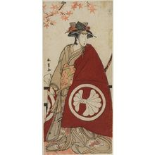 Katsukawa Shunjô: Actor Segawa Kikujirô AS A FEMALE DAIMYO, Edo period, - ハーバード大学