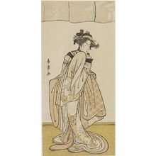 Katsukawa Shunjô: Actor Segawa Kikujirô AS A YOUNG GIRL, Edo period, - ハーバード大学