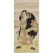 Katsukawa Shunjô: Actor Ichimura Uzaemon AS A WRESTLER, Edo period, before 1788 - ハーバード大学