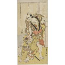 Katsukawa Shunjô: Actor Ichikawa Danjûrô AS A SAMURAI, Edo period, - ハーバード大学