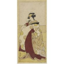 Katsukawa Shunjô: Actor Segawa Kikujirô AS A FEMALE SHITTEI, Edo period, - ハーバード大学