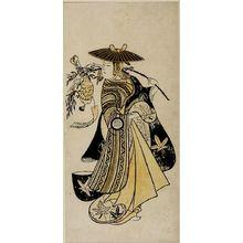 西村重長: Actor SANOGAWA ICHIMATSU 1ST AS, Mid Edo period, 1742 - ハーバード大学