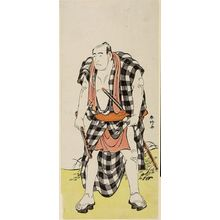 Katsukawa Shunko: Actor ARASHI OTOACHI AS AN OTOKODATE - Harvard Art Museum