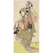 Katsukawa Shunko: Actor NAKAMURA NOSHIO AS A HARUGOMA DANCER - Harvard Art Museum