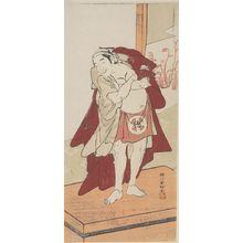 Katsukawa Shunko: Actor Otani Tokuji AS AMAKAWAYA GIHEI - Harvard Art Museum