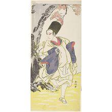 Katsukawa Shunko: Actor Ichikawa Yaozô AS A SHITEI - Harvard Art Museum