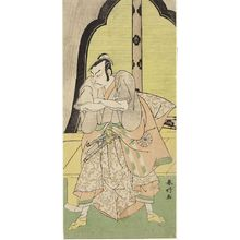 Katsukawa Shunko: Actor Nakamura MAKAZO AS A SAMURAI - Harvard Art Museum