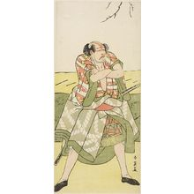 Katsukawa Shun'ei: Actor Arashi Ryuzô AS A YAKKO - Harvard Art Museum