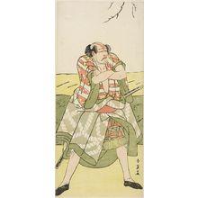 Katsukawa Shun'ei: Actor Arashi Ryuzô AS A YAKKO - Harvard Art Museum