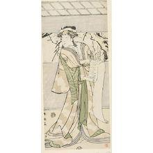 Katsukawa Shun'ei: WOMAN IN WHITE KIMONO - Harvard Art Museum
