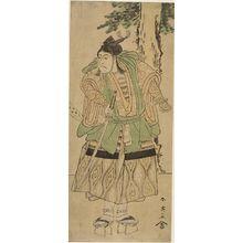 Katsukawa Shun'ei: MAN IN ARMOR - Harvard Art Museum