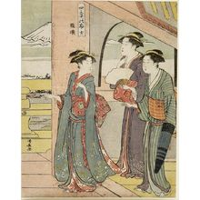Torii Kiyonaga: Mount Fuji in the Four Seasons (Shiki no Fuji) - Harvard Art Museum