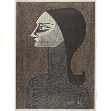 朝井清: Steady Gaze, Shôwa period, dated 1960 - ハーバード大学