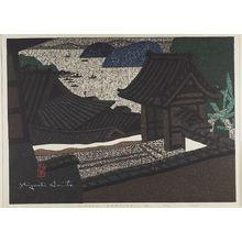 Asai Kiyoshi: Hirato Nagasaki, Shôwa period, dated 1965 - Harvard Art Museum