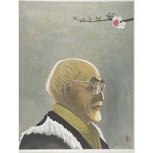 Sekino Jun'ichiro: Portrait of Shiga Naoya, Shôwa period, circa 1967? - Harvard Art Museum