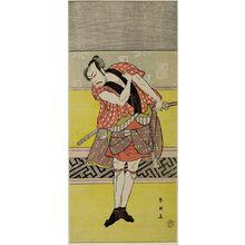 Katsukawa Shun'ei: Actor Nakayama Tomisaburô AS A SERVANT - Harvard Art Museum