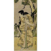 Katsukawa Shun'ei: Actor Ichikawa Komazô 2nd - Harvard Art Museum