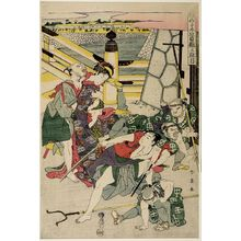 勝川春英: Act Three from the series Treasury of Loyal Retainers (Chûshingura: San danme) - ハーバード大学