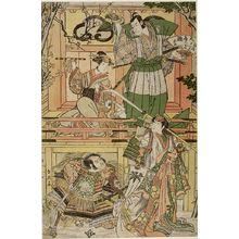 Katsukawa Shun'ei: REBUILT PROSPERITY OF TACHIBANA - Harvard Art Museum
