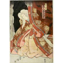 歌川房種: ACTOR, Late Edo period, circa 1853 - ハーバード大学