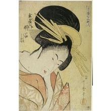 Kitagawa Utamaro: BUST PORTRAIT OF WOMAN - Harvard Art Museum