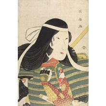 Utagawa Kunimasa: PORTRAIT OF TOMOE GOZEN - Harvard Art Museum
