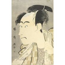 Utagawa Kunimasa: Actor Ichikawa Danjûrô 5th, Late Edo period, 1795 - Harvard Art Museum