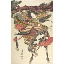 Utagawa Toyoshige: TOMOE GOZEN - Harvard Art Museum