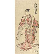 Utagawa Toyoshige: Actor SAWAMURA GENNOSUKE AS YOSHITSUNE - Harvard Art Museum