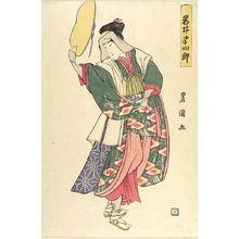 Utagawa Toyoshige: Actor Iwai Hanshirô AS JUNREI - Harvard Art Museum