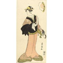 Utagawa Toyoshige: Actor Onoe MATSUKE AS KAGI NO OCHO - Harvard Art Museum