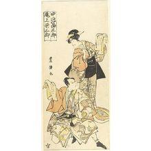 Utagawa Toyoshige: Actors NAKAYAMA TOMISABURO AND ONOUYE YEZABURO - Harvard Art Museum
