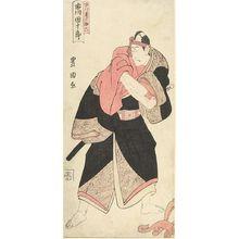 Utagawa Toyoshige: Actor Ichikawa Danjûrô as Sukeroku - Harvard Art Museum