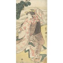 Utagawa Toyokuni I: Actor Onoe Kikugorô AS A WOMAN DANCER - Harvard Art Museum