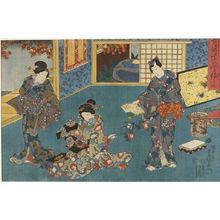 Utagawa Kunisada: YUKARI NO UTENSHU - Harvard Art Museum