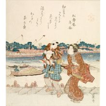 Keisai Eisen: See no Evil, from the series See no Evil, Speak no Evil and Hear no Evil - Harvard Art Museum