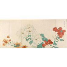 Kitao Shigemasa: Chrysanthemums - Harvard Art Museum