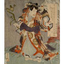 Utagawa Sadakage: Man with Sword - ハーバード大学
