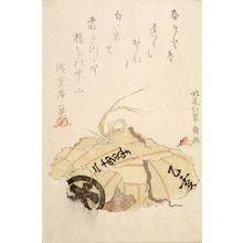 北尾重政: Wild Boar Meat, Edo period, 1815 - ハーバード大学